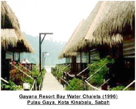 2 GAYANA RESORT BAY WATER CHALETS